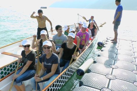 Dragon boat en Hong Kong